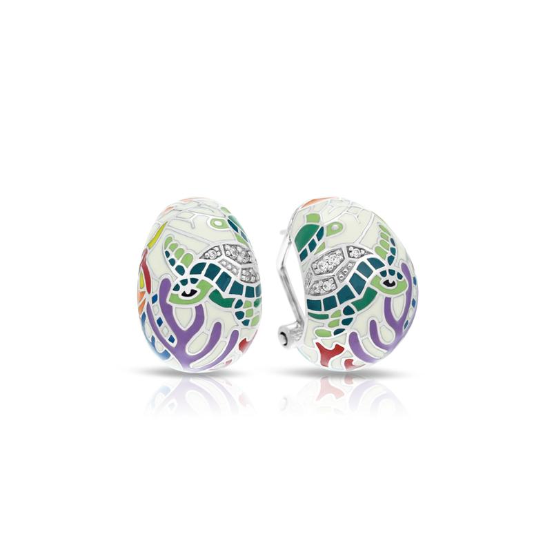 Studio Silver Sea Turtle Earrings
