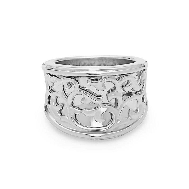 Studio Silver Sterling Silver Ivy Lace Saddle Ring