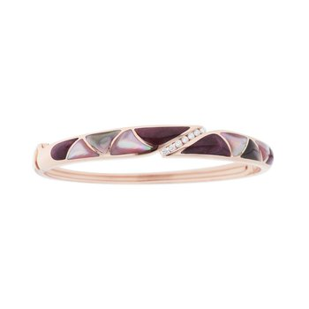 14 Karat Riviera Dusk Mosaic Bangle