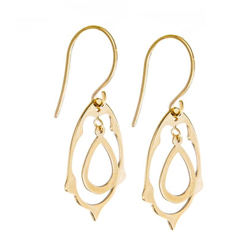 Studio Fine 14 Karat Fiesta Dangle Earrings