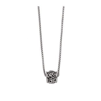 Sterling Silver Ivy Ball Necklace