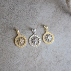 Beachy Baubles by The Studio Small Classic Compass Charm