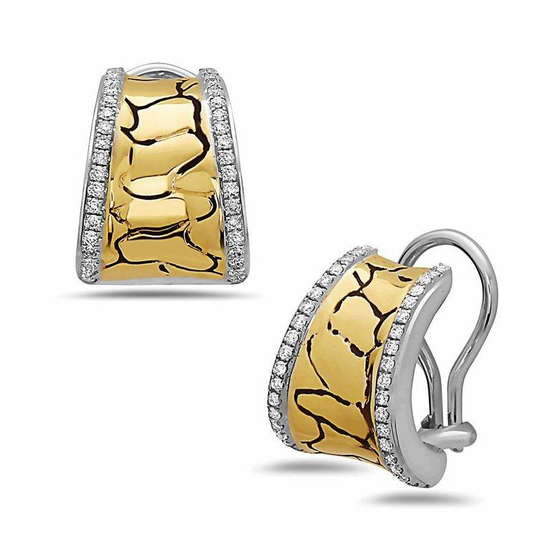 Studio Silver Python Tuxedo Earrings