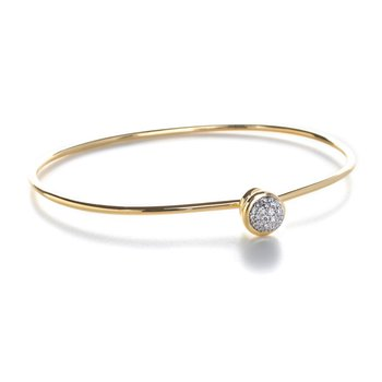 Small Diamond Bauble Bracelet