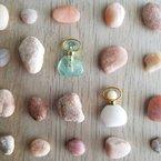 Beachy Baubles by The Studio Beach Stone Bottles: Mini