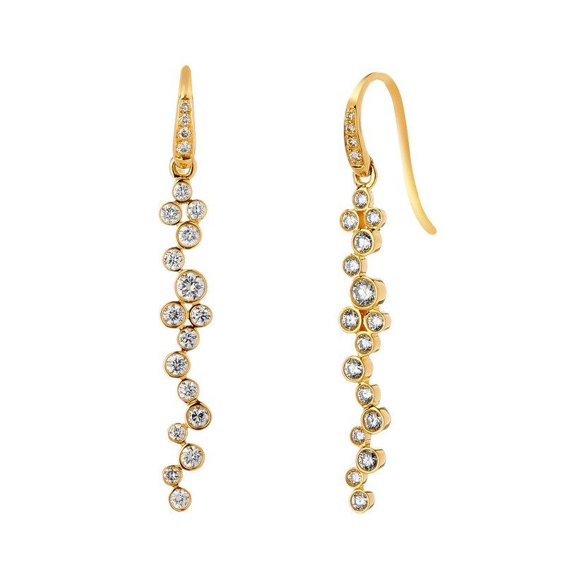 7 Mile Fine Champagne Bubbles Earrings