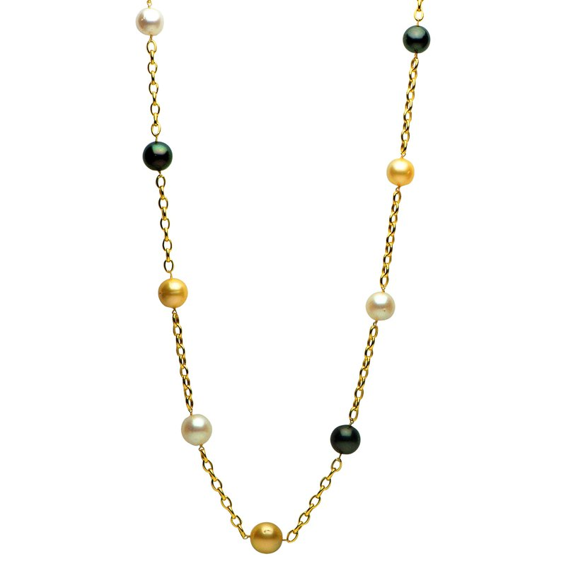 7 Mile Fine Railay Sea Pearl Long Necklace