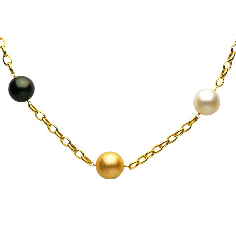 7 Mile Fine Railay Sea Pearl Long Necklace