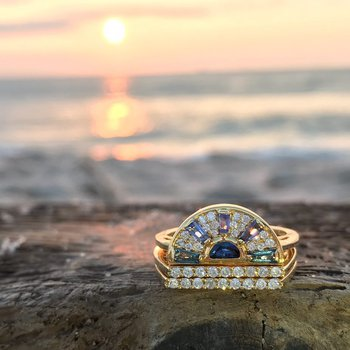 Sunrise Stackable Rings
