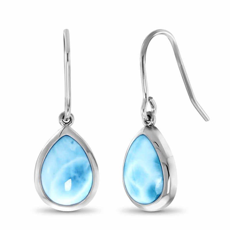 Studio Silver Pear Dangle Earrings