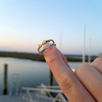 Stone Harbor Favorite Places Ring