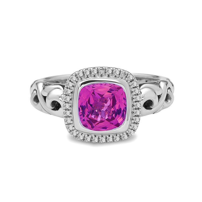 Studio Silver Pink Topaz Ellah Ring