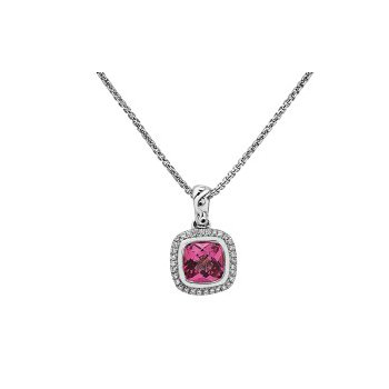 Pink Topaz Ellah Necklace