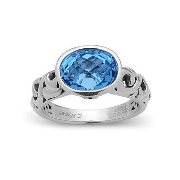 Blue Topaz Dylani Ring