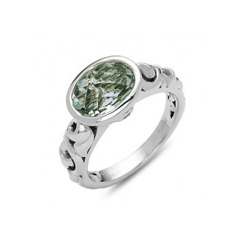 Green Amethyst Dylani Ring