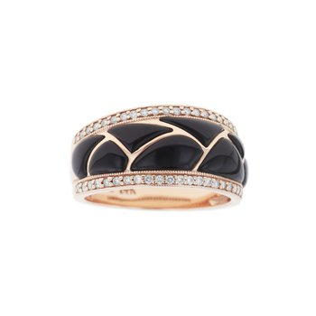14 Karat Classic Onyx Ring