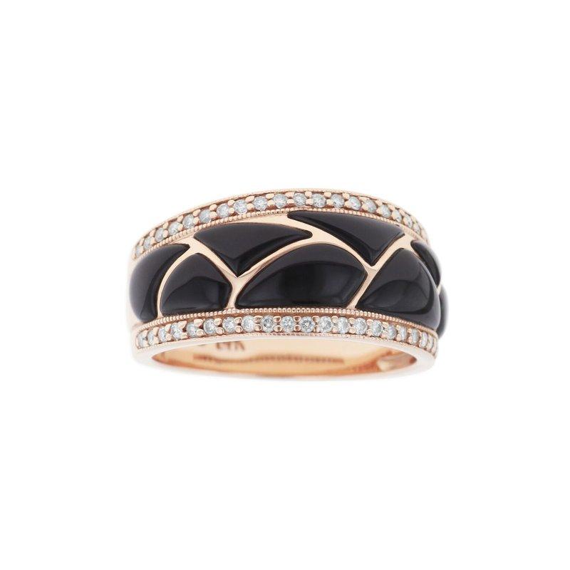 Studio Fine 14 Karat Classic Onyx Ring