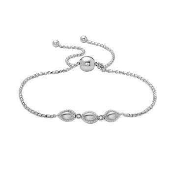 Sterling Silver Firefly Bolo Bracelet