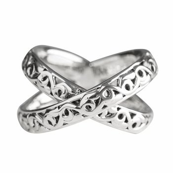 Sterling Silver X-Ring