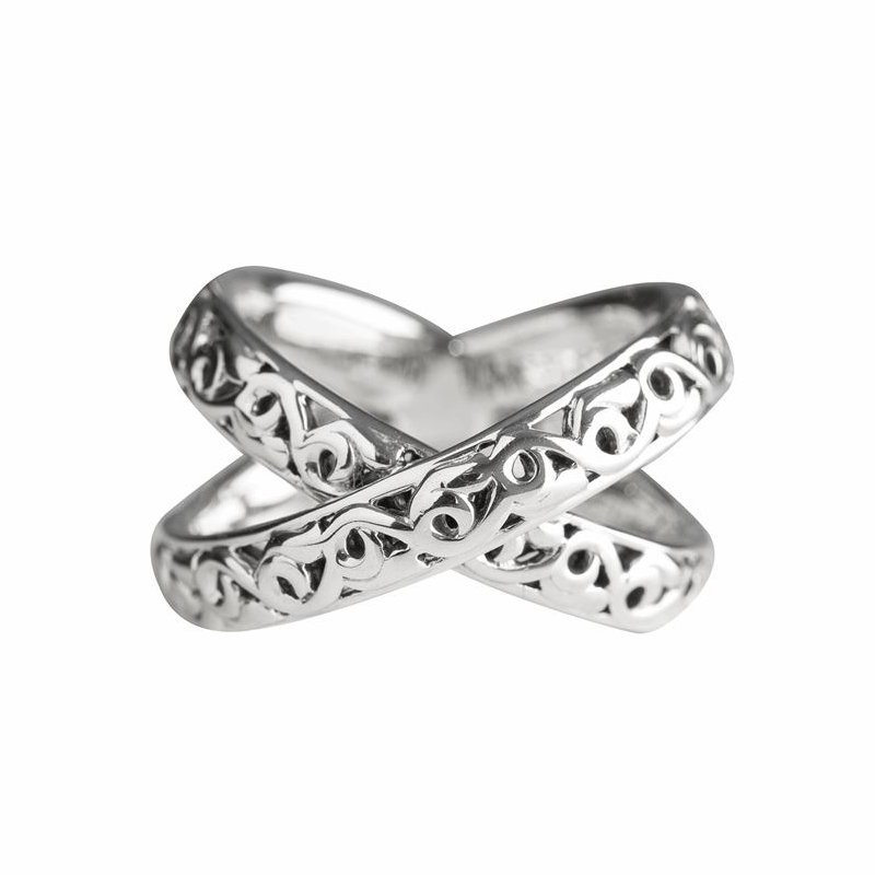 Studio Silver Sterling Silver X-Ring