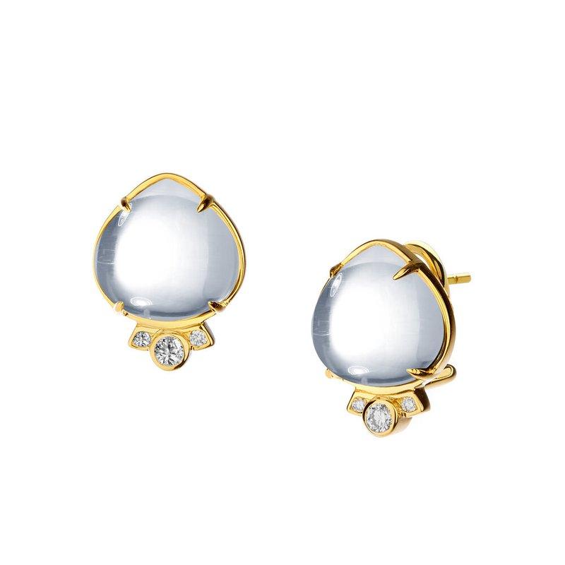 7 Mile Fine Heart Cabochon Earrings