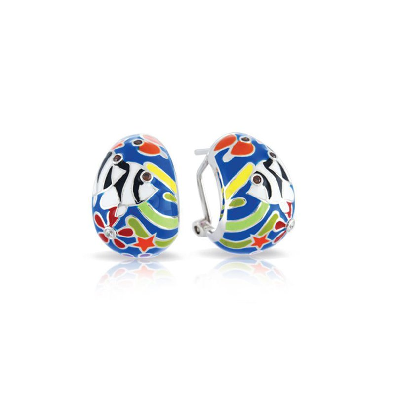 Studio Silver Angelfish Earrings