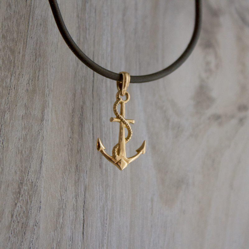 Beachy Baubles by The Studio High Tides Anchor Charm