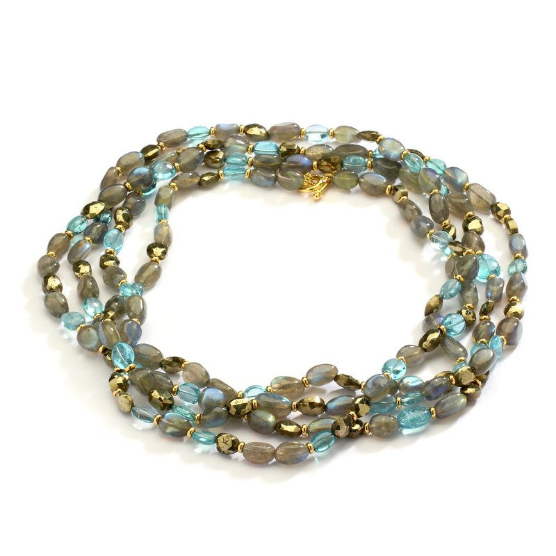 7 Mile Fine Mogul Bead Necklace
