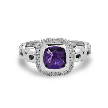 Amethyst Ellah Ring