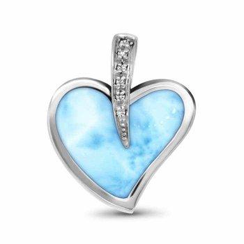 Pezullio Heart Necklace
