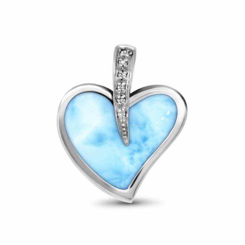 Studio Silver Pezullio Heart Necklace