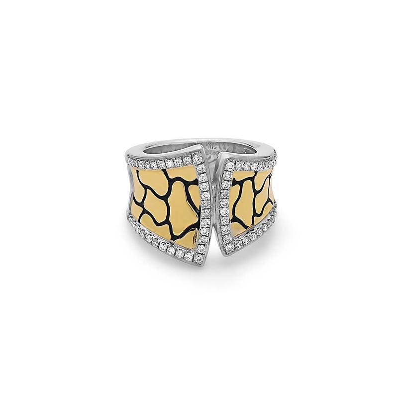 Studio Silver Python Tuxedo Ring