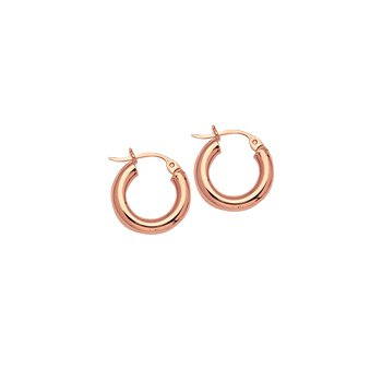"14 Karat 1/2"" High Polish Hoops"
