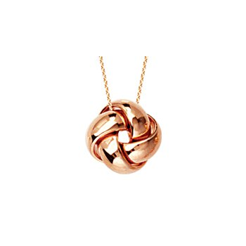 14K Love Knot Necklace