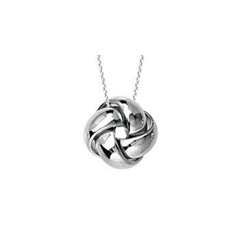 14K Love Knot Necklace