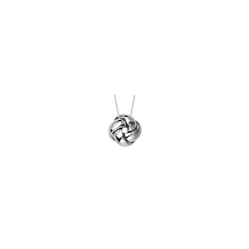 Studio Fine 14K Love Knot Necklace