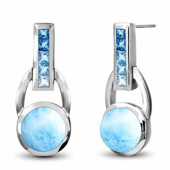 Aqua Earrings