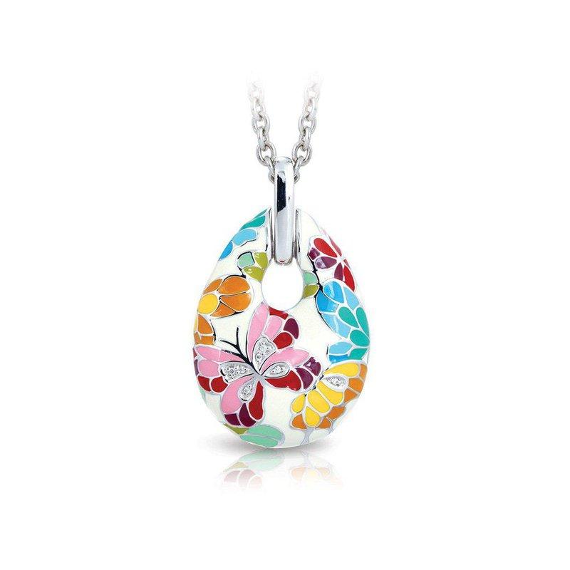Studio Silver Butterfly Kisses Pendant
