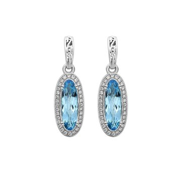 Blue Topaz Eve Earrings
