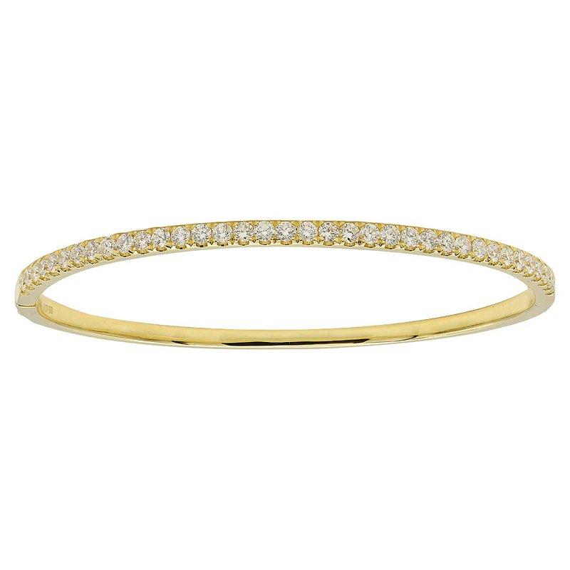 7 Mile Fine 18 Karat Gold Diamond Bangle