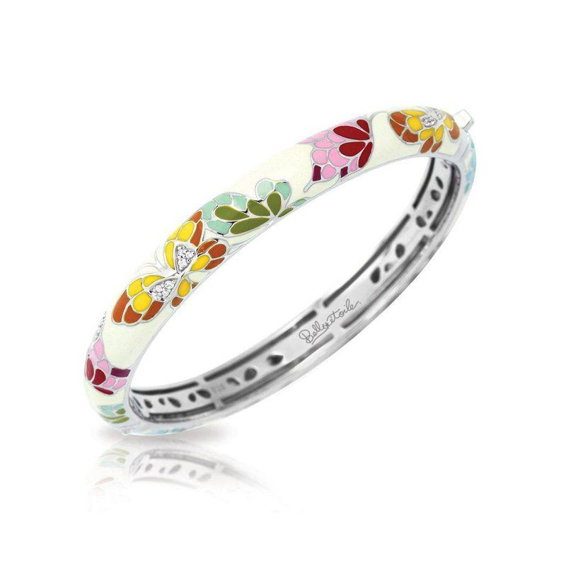 Studio Silver Butterfly Kisses Bangle
