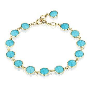 Turquoise Chakra Bracelet