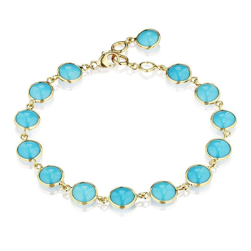 7 Mile Fine Turquoise Chakra Bracelet