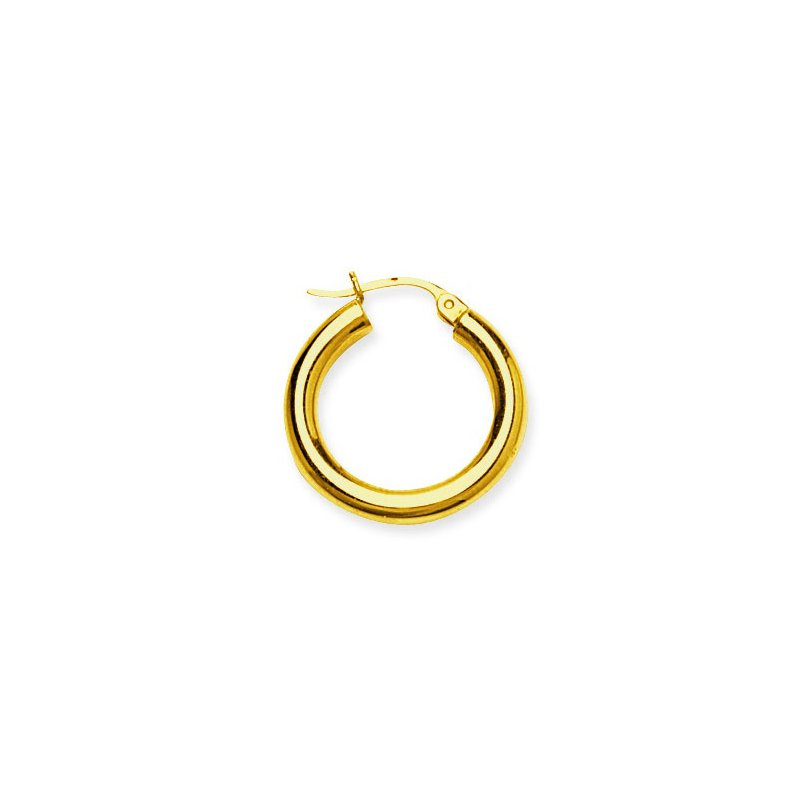 "Studio Fine 14 Karat 3/4"" High Polish Hoops"