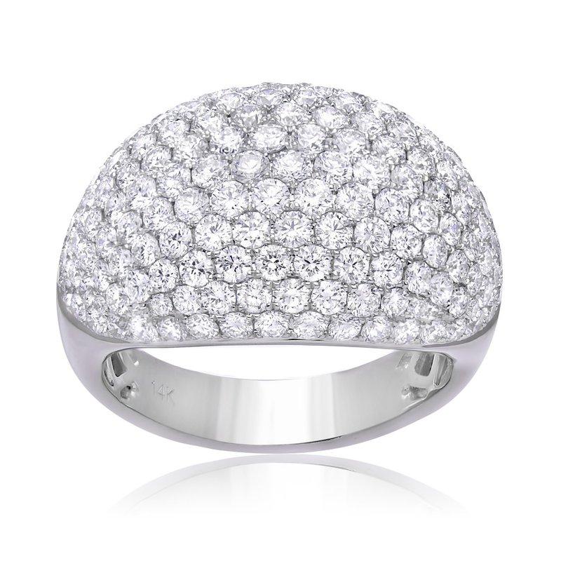 Studio Fine Pavé Dome Diamond Ring