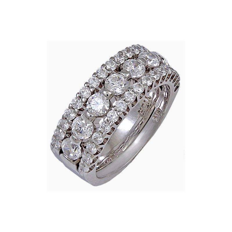 Billig Bridal R0290-CZ-W