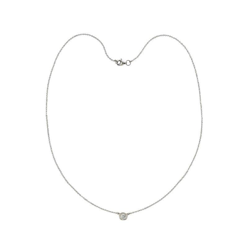 Billig Signature Single Stone Diamond by the Yard Necklace