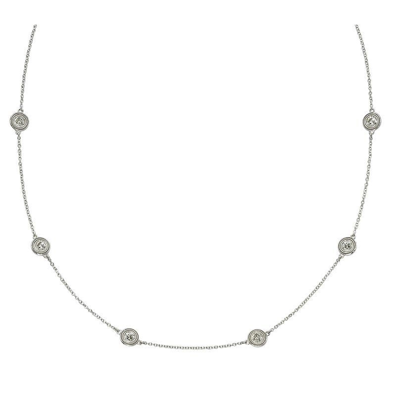 Billig Signature Six Stone Diamond by the Yard Necklace