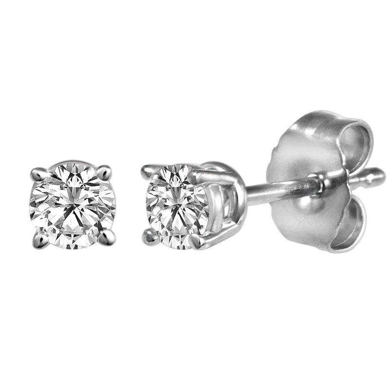 Billig Signature Four Prong Diamond Studs