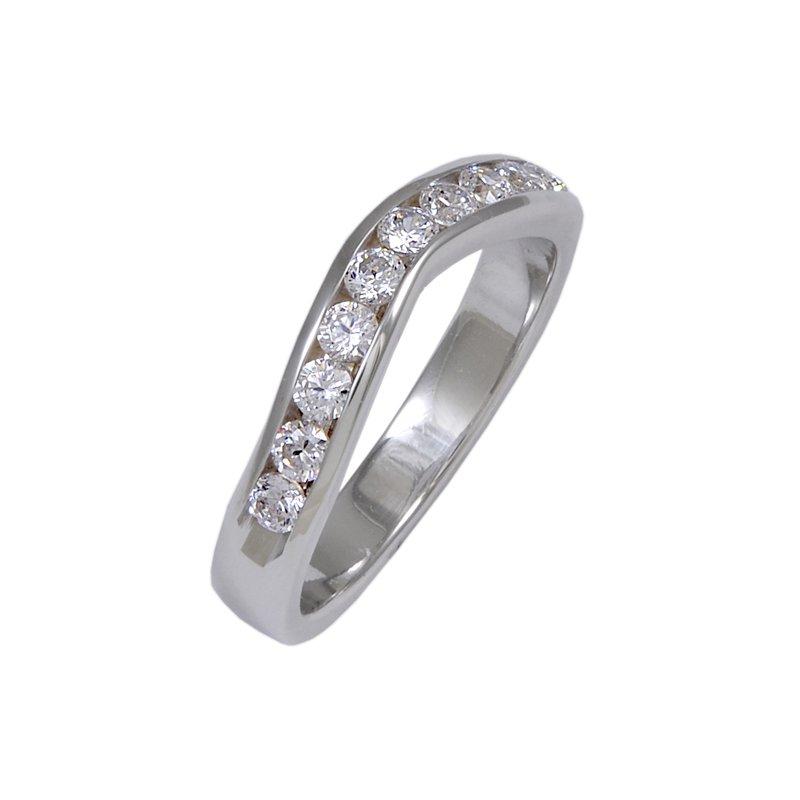 Billig Bridal R0021-cz-W